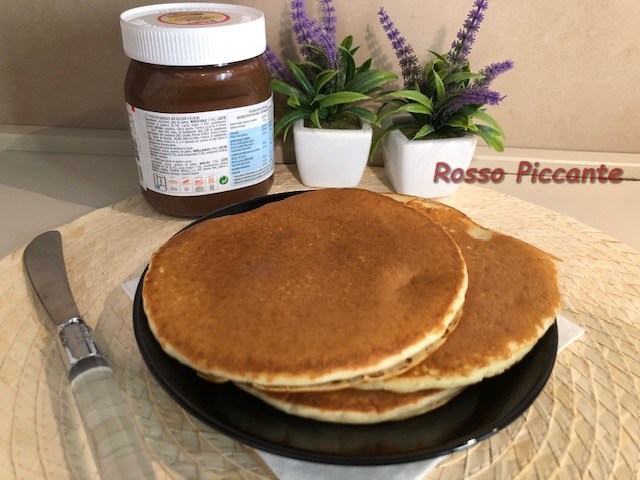 Ricetta Pancake Originali Americani.Pancake Ricetta Originale Rosso Piccante
